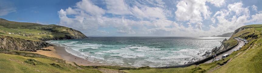 Panorama vom Strand Slea Head