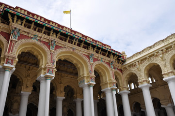 Thirumalai Nayak Palace, Madurai (India)