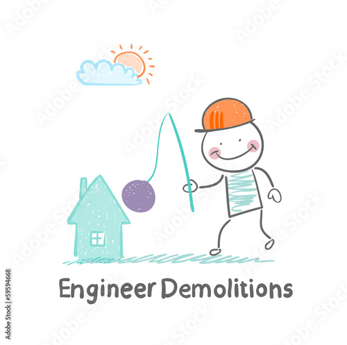 Engineer Demolitions destroys home