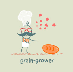 grain grower in love with bread