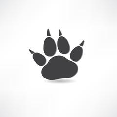 animal tracks icon