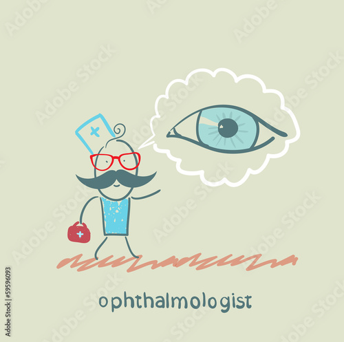 ophthalmologist thinks about eye