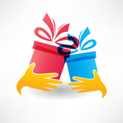 holiday gifts icon