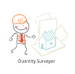 Quantity Surveyor design house on paper