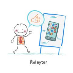 Relayter praises mobile phone