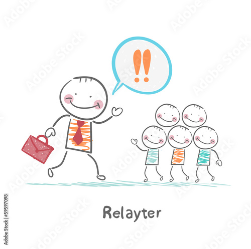 Relayter praise products to the people