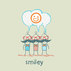 people think about smileys