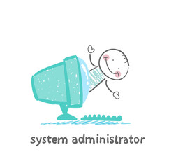 system administrator to the computer