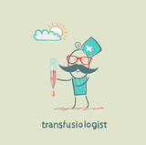transfusiologist is blood transfusion