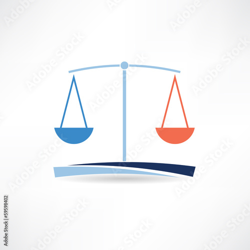 law abstract icon
