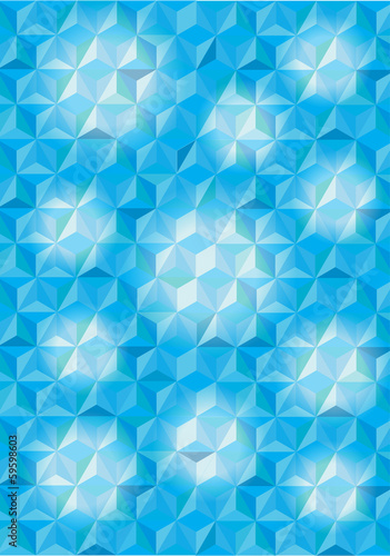 3D cubes vector background