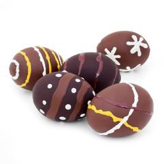 Decorated Easter eggs - Œufs de Pâques décorés