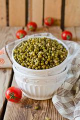 Boiled mung beans