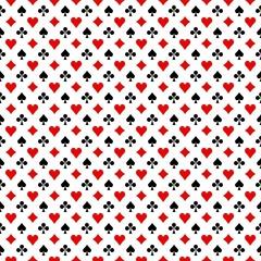 Fond symboles jeu de cartes 4