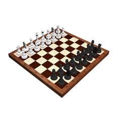 Schachbrett 3D