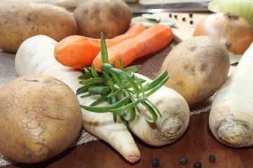 Eintopf-Gemüse