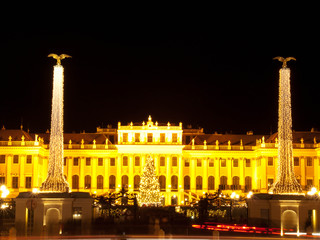 Christmas at Schonbrunn Palace in Vienna