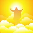 Obrazy na płótnie, fototapety, zdjęcia, fotoobrazy drukowane : God Jesus-vector
