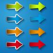 Set icon arrow right