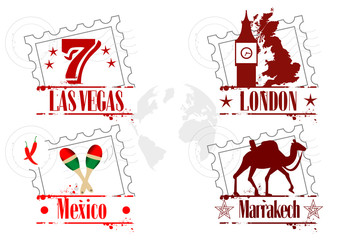 timbres lieux mythiques