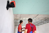 The wage workers set ceiling profile in new apartment poster