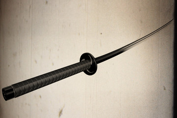 Samurai Katana 3D artwork