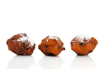 Dutch traditional oliebollen