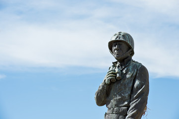 Statue of General Patton