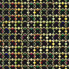 Pattern with black crosses