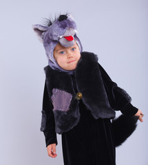 Child in fancy dress
