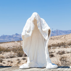 Ghost in the desert
