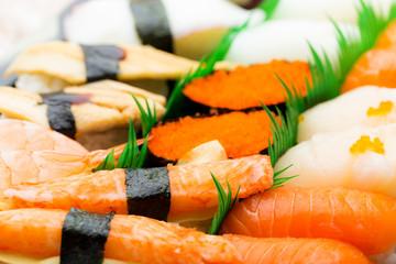 Japanese sushi box