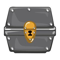 Treasure Chest isolated illustration