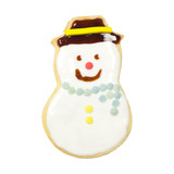 Gingerbread cookies, clipping path