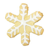 Gingerbread Snow fake isolated, clipping path