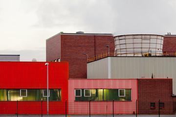 Waste-to-energy plant Oberhausen Germany detail