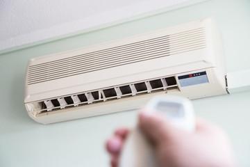 Klimaanlage im Hotel