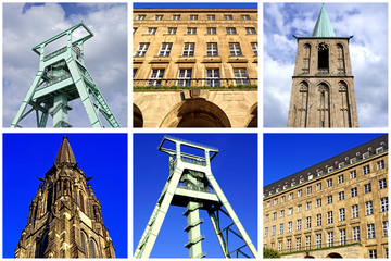 Impressionen von BOCHUM ( Ruhrgebiet )