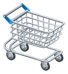 Shopping trolley icon