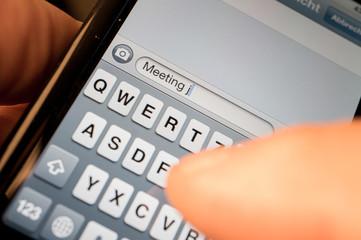 Smartphone Nachricht