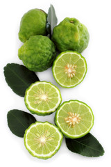 Kaffir Lime or bergamot.
