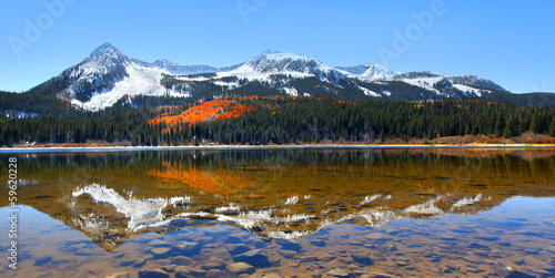 Lost lake reflection