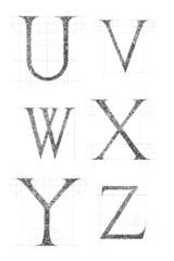 classic font 04