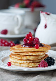 Pancake with berry