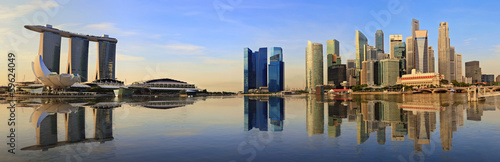 Canvas Singapore Singapore panorama city skyline