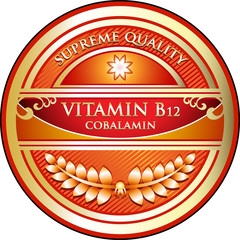 Vitamin B12 Supreme Quality Label