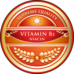 Vitamin B3 Supreme Quality Label
