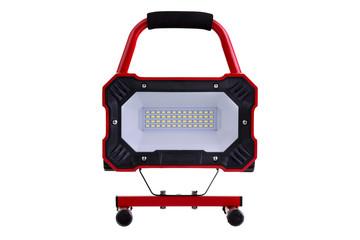 Red metal LED work light