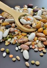 Misto di legumi e cereali