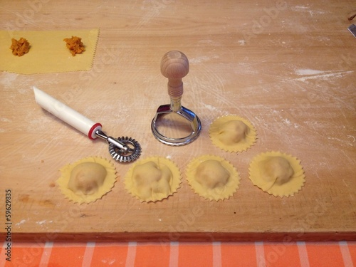 Tortelli di zucca